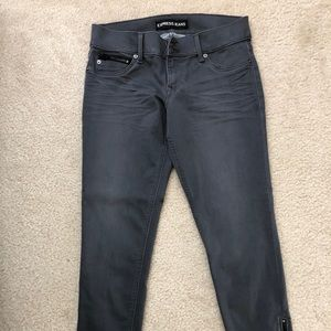 Express Extreme Stretch Ankle Jeans